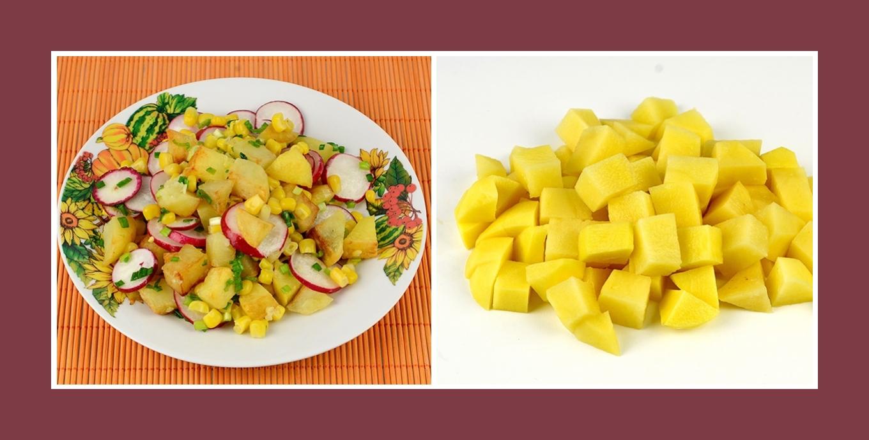 Kartoffelsalat Frühling