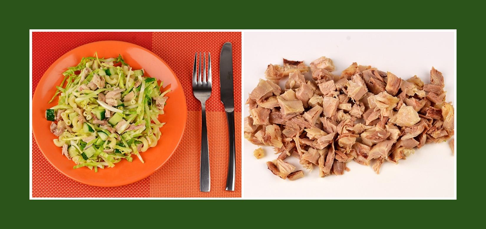 Frühlingssalat mit Putenbrust oder Hähnchenfleisch