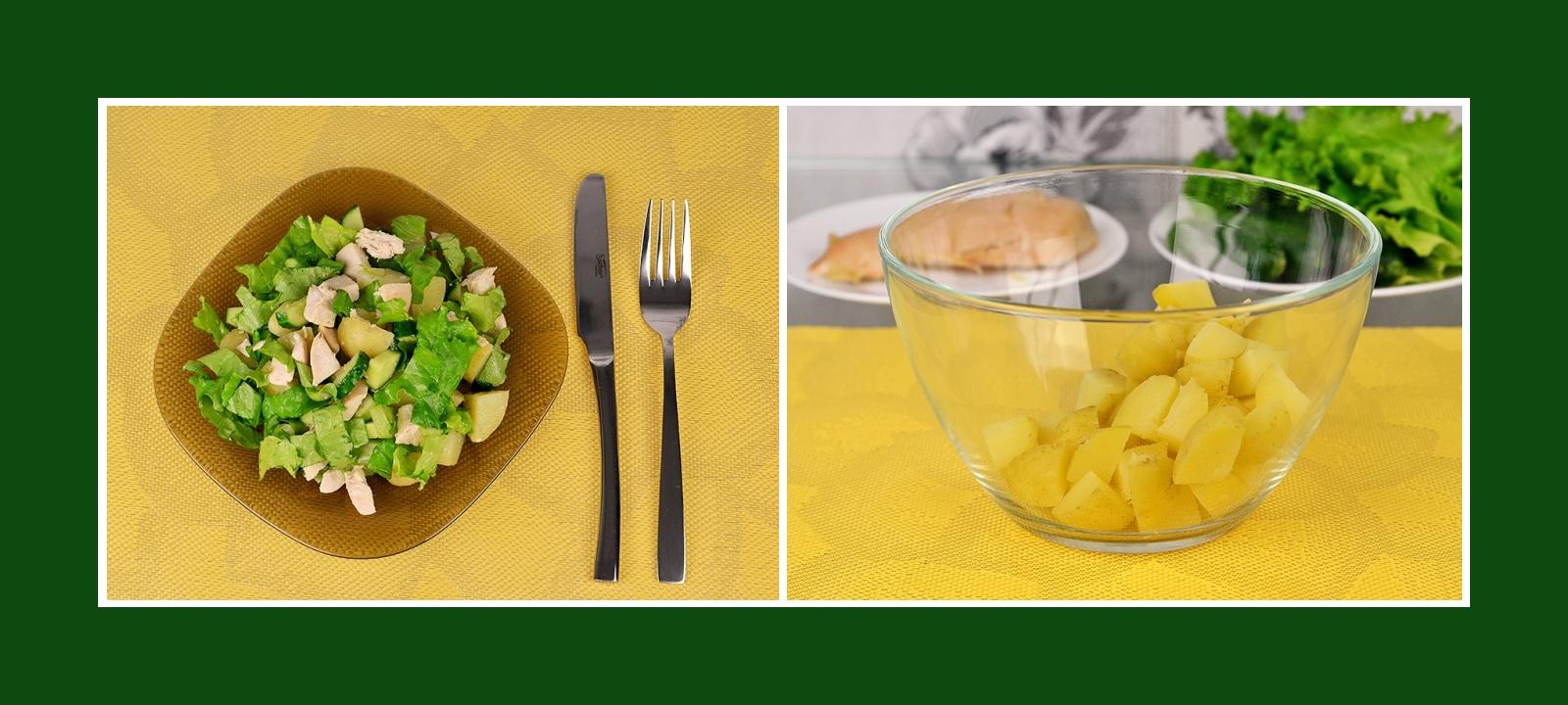 Kochkartoffeln für Frühlingssalat Sommersalat