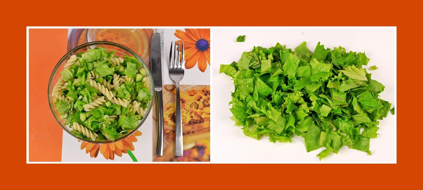 Salatblätter für erfrischende Gerichte
