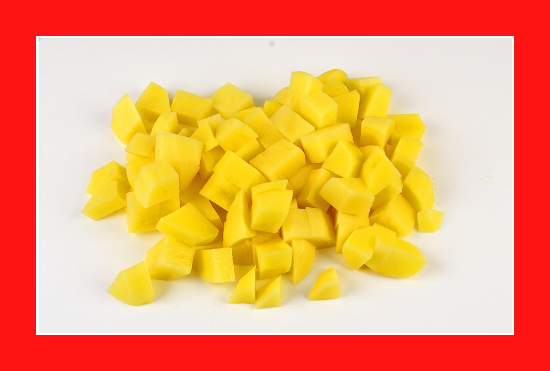 Einfacher Eiersalat mit Kartoffel