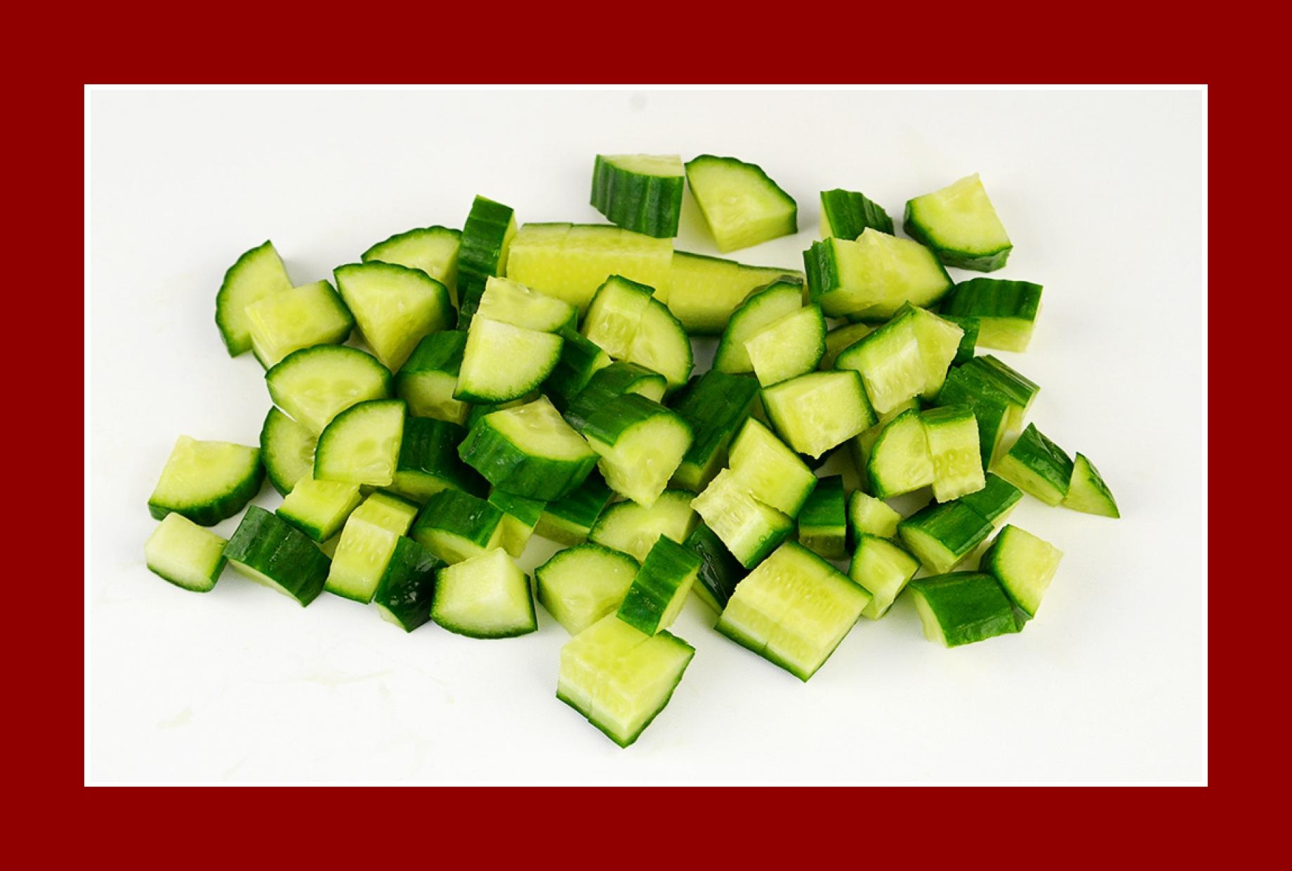 Gurkensalat Grillsalat Sommersalat
