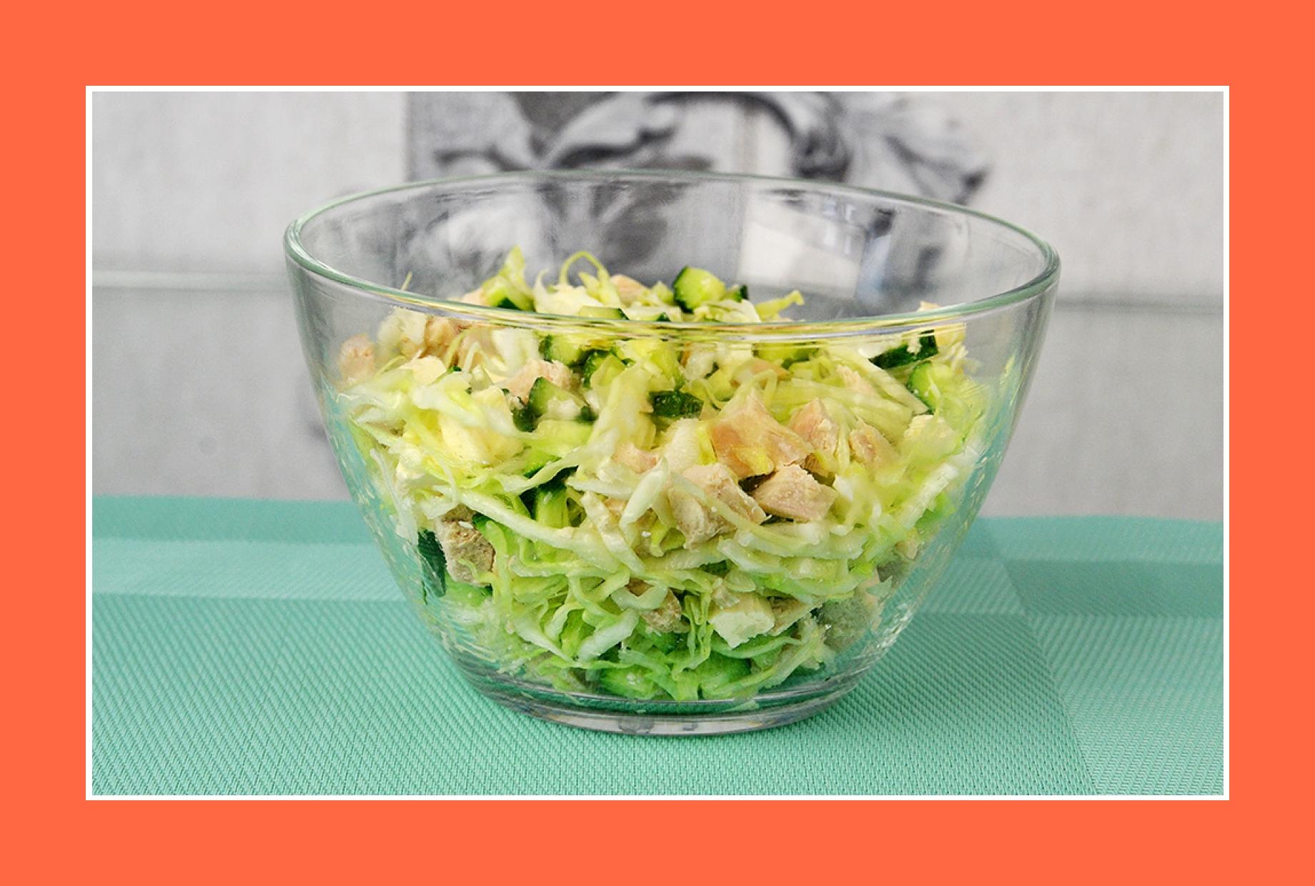 Hähnchensalat Frühlingssalat Geflügelsalat Gurkensalat