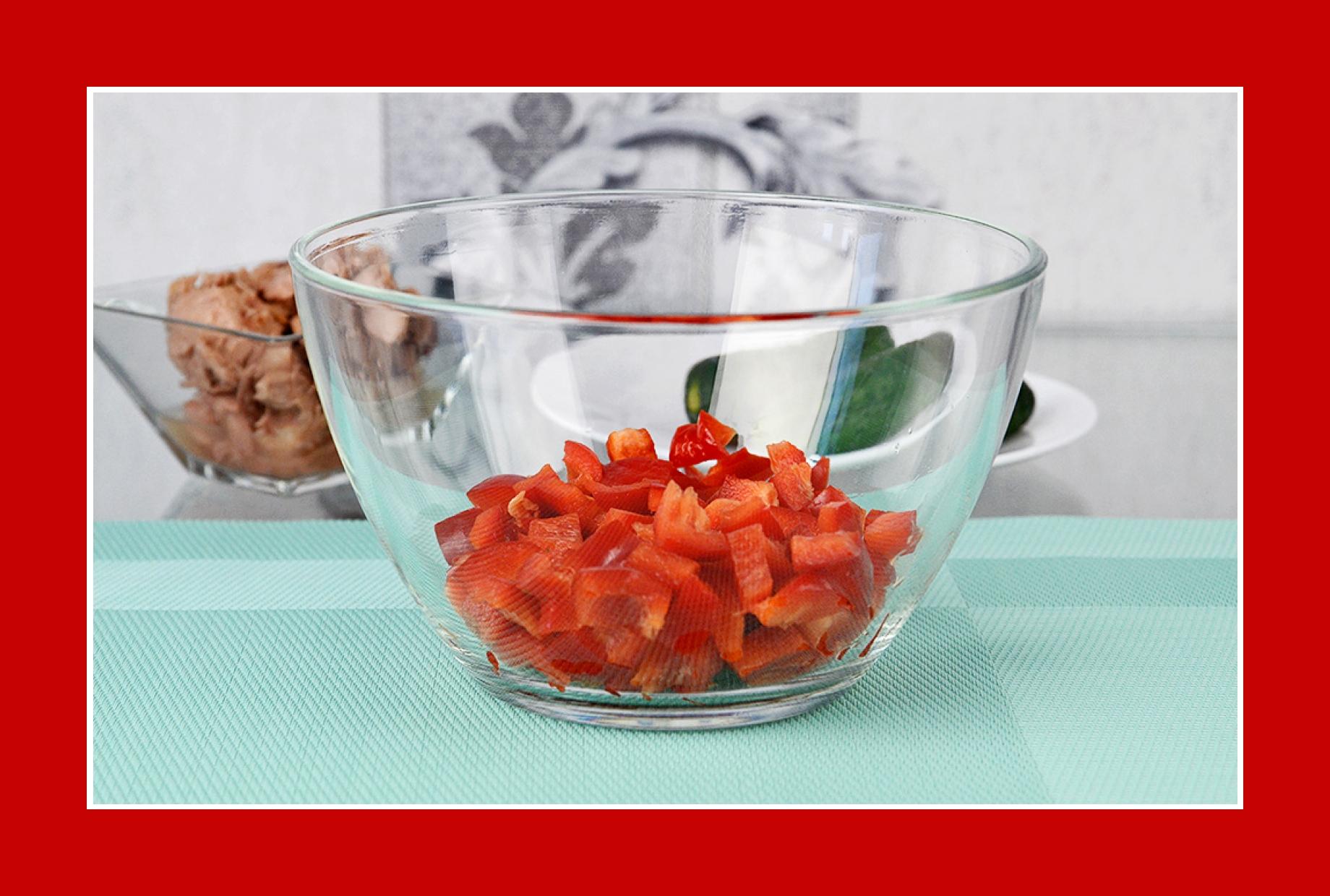 Thunfischsalat mit Paprika