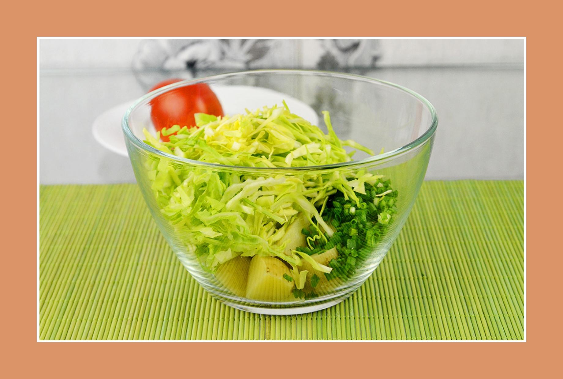 Kartoffelsalat Weißkrautsalat Salate zum Grillen